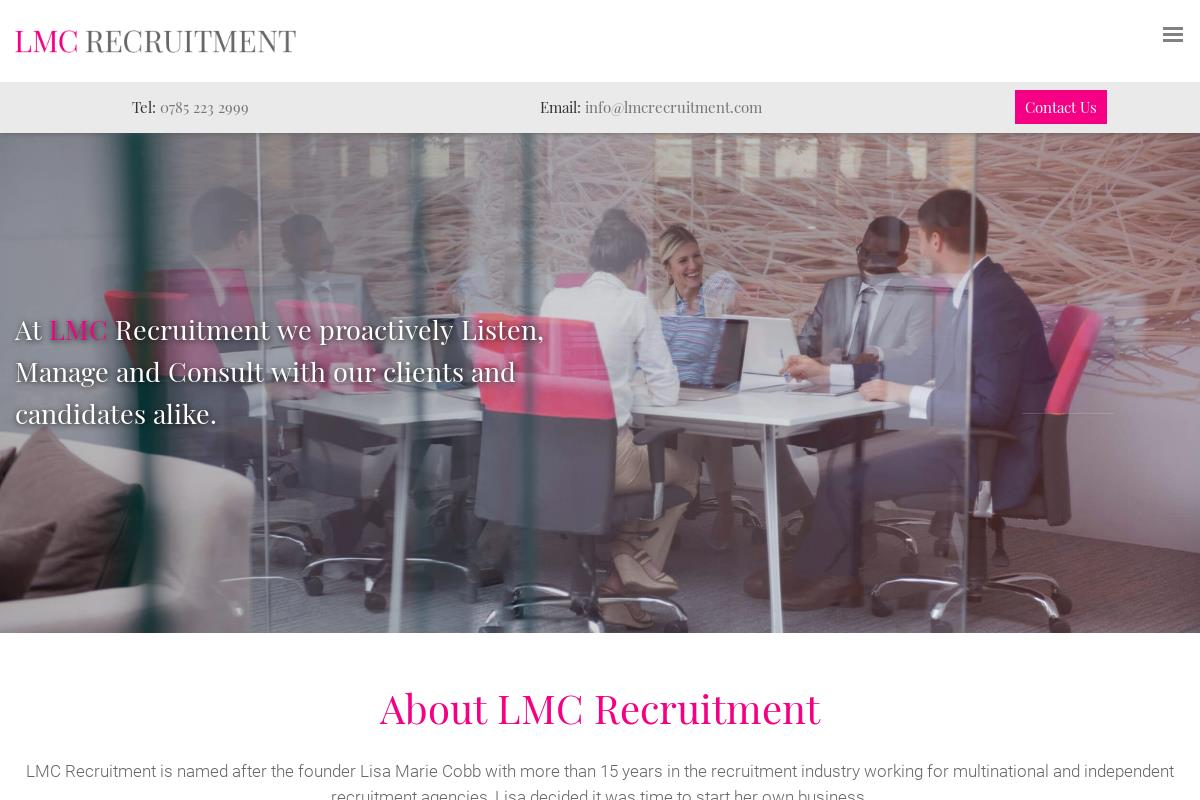 Home : LMC Recruitment