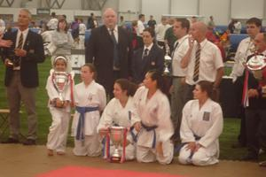 Hannah winning Toyakwai girl champion 2010, a bit excited she was