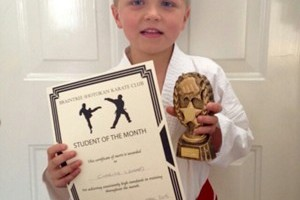 Charlie Lingard April 2015 Student of the Month