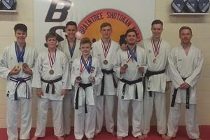 The boys did well in Sheffield 2014