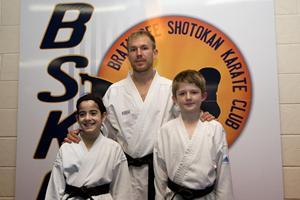 Congratulations to Hannah + James our new black belts ( Dec 2012 )