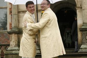 Simon and Stuart at CREWE HALL