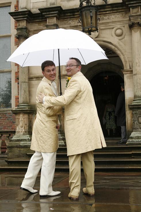 Simon and Stuart at CREWE HALL
