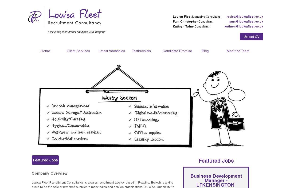 Home : Louisa Fleet Recruitment Consultancy