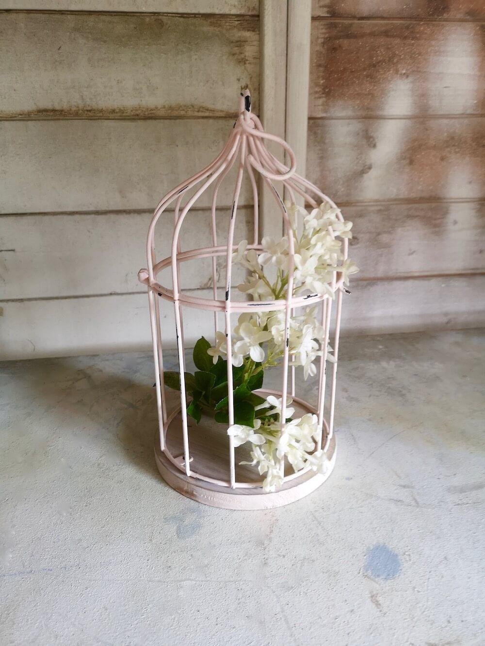 Custom Painted Bird Cage