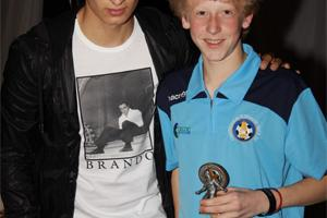 Jonjo Shelvey (Swansea City & England) at Prestatyn