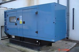 Outdoor Generator Installation at H J Hienz Norfolk