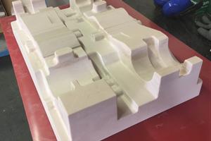 Packaging Tray vacuum forming prototype ureol tool