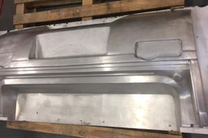 Rear Bumper Front vacuum forming cast ali tool