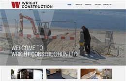 Wright Construction - website design by Toolkit Websites, Southampton