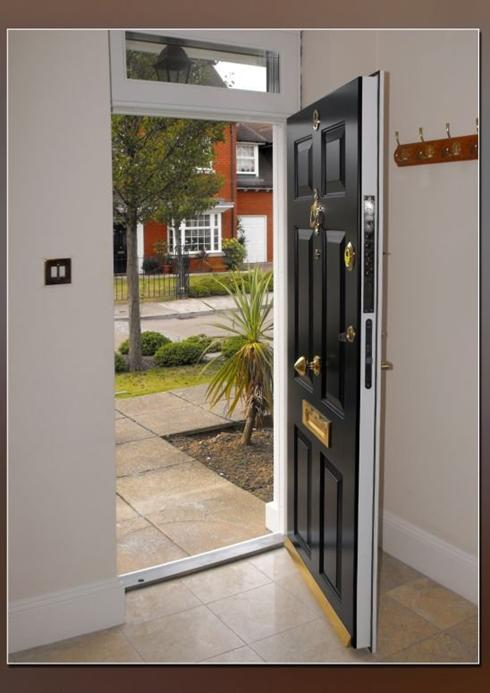 Residential security doors exterior home design for Residential front entry doors