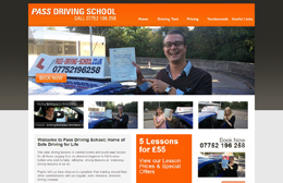 Ali's Pass Driving School - Driving tuition website design by Toolkit Websites, Southampton