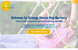 Grange House Day Nursery - Nursery website design by Toolkit Websites
