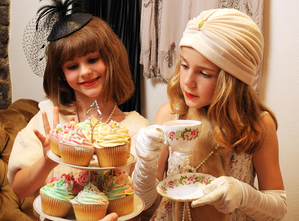 mother and grown up daughter photo ideas - Children s Tea Parties Betty Blythe