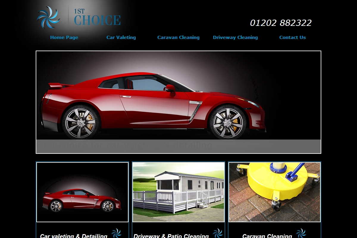 Caravan cleaning 1st choice mobile valeting for First choice mobile site