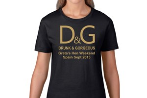 Hen Party T Shirt Design Idea