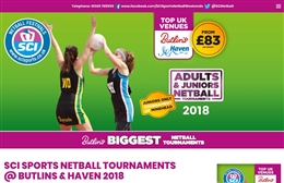 SCI Sports Netball Festivals - website design by Toolkit Websites, professional web designers