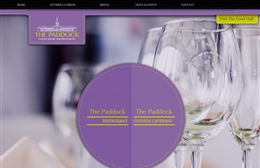 The Paddock - Catering website design by Toolkit Websites, Southampton