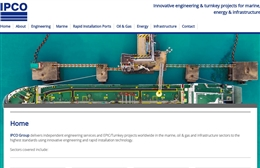 IPCO Group - Engineering website design by Toolkit Websites, Southampton