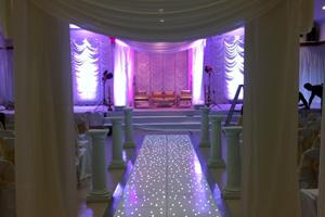 White LED Floors