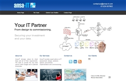 Ansa IT - IT website design by Toolkit Websites, Southampton