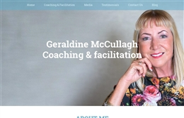 Geraldine McCullagh - Coaching website design by Toolkit Websites, Southampton