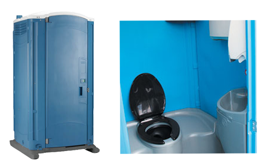 Cold Wash Re Circulating Toilet Mobile Toilet Hire