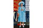HM Queen Elizabeth The Queen Mother  34x60 inches