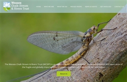 Wessex River Trust - Not for profit web design by Toolkit Websites, Southampton