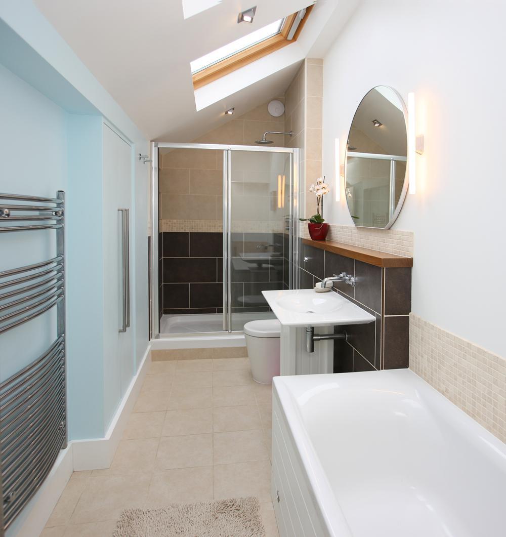 Bathroom installation in Hertfordshire