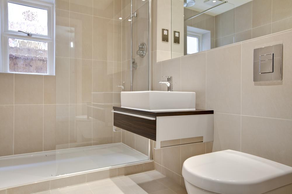Shower room installation in Hertfordshire