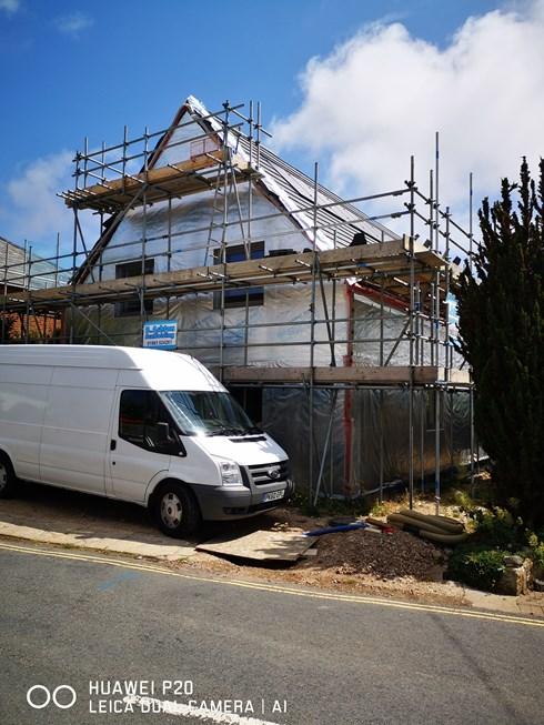 Joy Cottage Under Construction