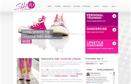 Sally Humphries - Lifestyle coach website design by Toolkit Websites, Southampton