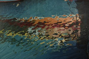 Harbour Reflections II  1370 x 910mm   Original and Limited Edition Gicleé Print  available