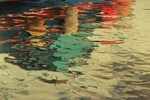 Harbour Reflections III  1360x965mm Print available