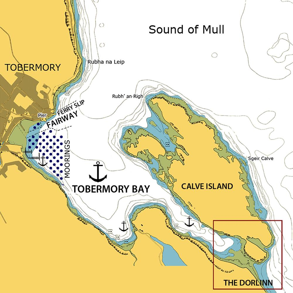 chart of tobermory bay