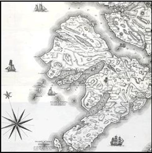 history mull map