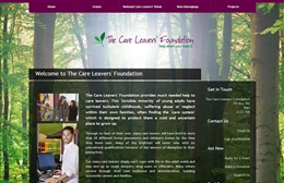 Care Leavers' Foundation - Charity web design by Toolkit Websites, Southampton