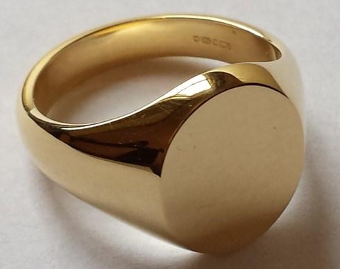 Gold Signet Rings Ladies London