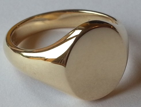 008e945ea3316 Gold Signet Rings : Hand Engraving and Signet Ring Specialists