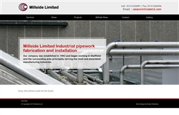Millside - Engineering website design by Toolkit Websites, Southampton
