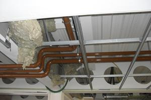 Dual contained fuel pipework