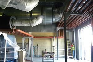 Cooling water pipework 6 prime power generators