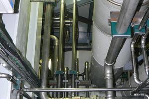 Pressfit water pipework furnace