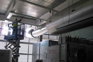 Silencer & exhaust pipework HSBC
