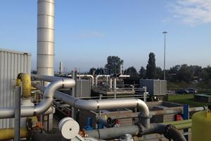 Stainless steel exhaust pipework 1