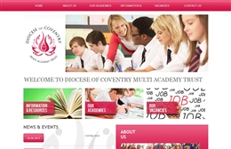 Diocese of Coventry MAT - School website design by Toolkit Websites, Southampton