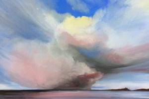 'Cumulonimbus' 89 x 64 cm Framed Oil on canvas
