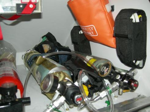 emergency equipment installation