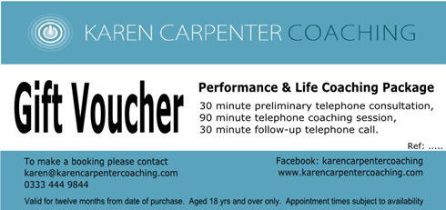 Life Coaching Package Gift Voucher